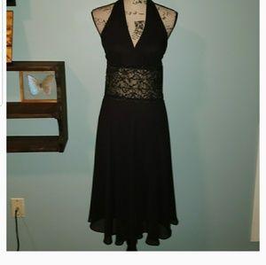 New Scarlett Little Black Halter Dress